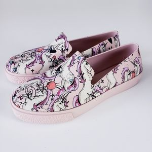Melissa Ground Unicorn Sneaker Loafers Shoes 9